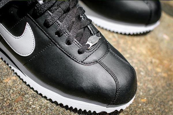 f0ad4f922c248c NIke Cortez Basic Leather Black White - Ballislife.com