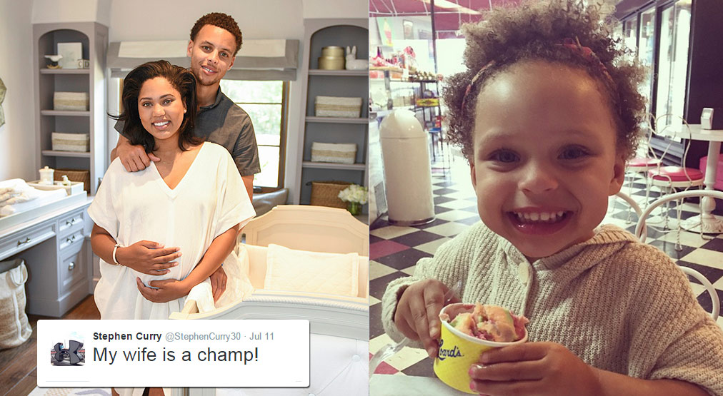 8912303b7bb Stephen   Ayesha Curry Welcome a New Baby Girl  Ryan Carson Curry ...