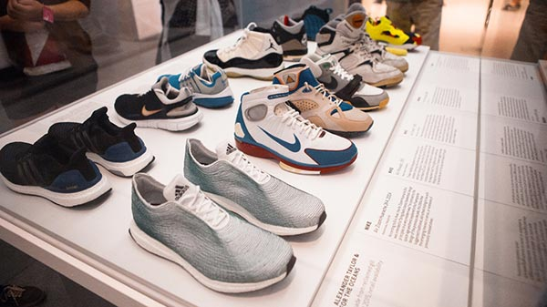1738dc91f3f ... the shoe revolutionized the culture of sneakers. You can see the  exhibit yourself which will be running up until October 10th at the  Brooklyn Museum.