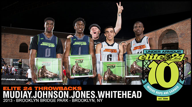 2013 - Mudiay, Johnson, Jones, Whitehead MVPS