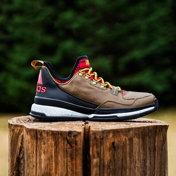 69ac7de37a4c adidas and Damian Lillard today unveiled a Portland inspired edition of the  D Lillard 1 basketball shoe. The D Lillard 1 Forestry Edition design  elements ...