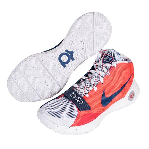 buy online cf19b 294b0 The Nike KD Trey 5 III just got dropped in a new colorway in which looks to  be donning OKC colorways but its actually apart of the Nike Basketball Rise  ...