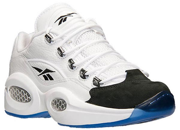 """wholesale dealer 2fd23 8727b Theres always an unexpected shoe drop every year as well. This year saw the Reebok  Question Low """"black toe"""" drop unexpectedly this past ..."""