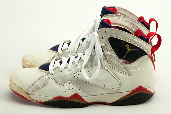sale retailer 75e5c cb595 Michael Jordan's game Worn Sneakers are up for Auction ...