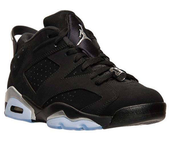 "cheap for discount 0f645 3f459 Air Jordan 6 Low ""Chrome"" - Ballislife.com"