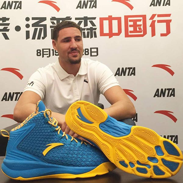 4530545d469 Anta   Klay Thompson Unveil Signature Shoe - Ballislife.com
