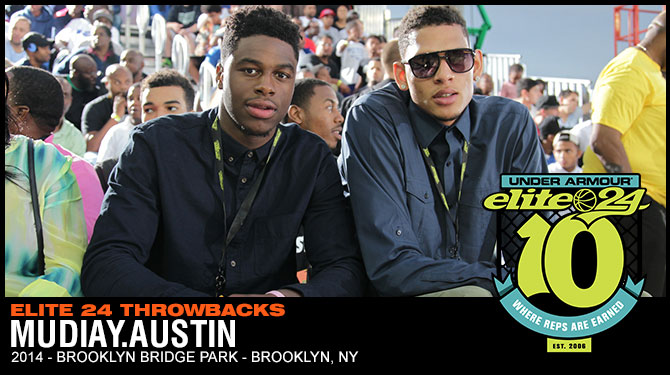 A Look Back - Mudiay and Austin in Brooklyn in 2014