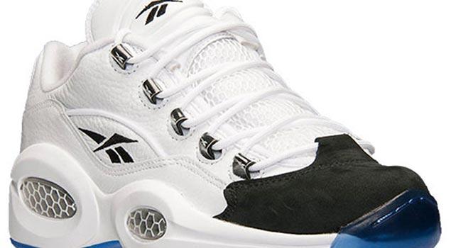 "974462b918e Reebok Question Low ""Black Toe"" - Ballislife.com"