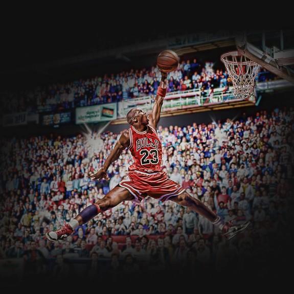 What Would The Jordan Logo Look Like If Michael Jordan Did It In A ... 50eda2256e7e