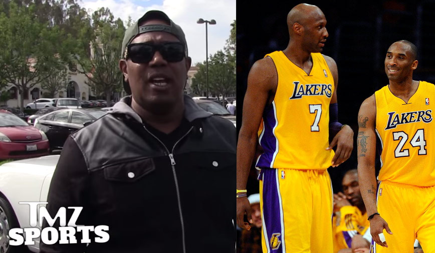 fc32db3b570c Master P Says Kobe Bryant is a Phony   Could ve Saved Lamar Odom s Career