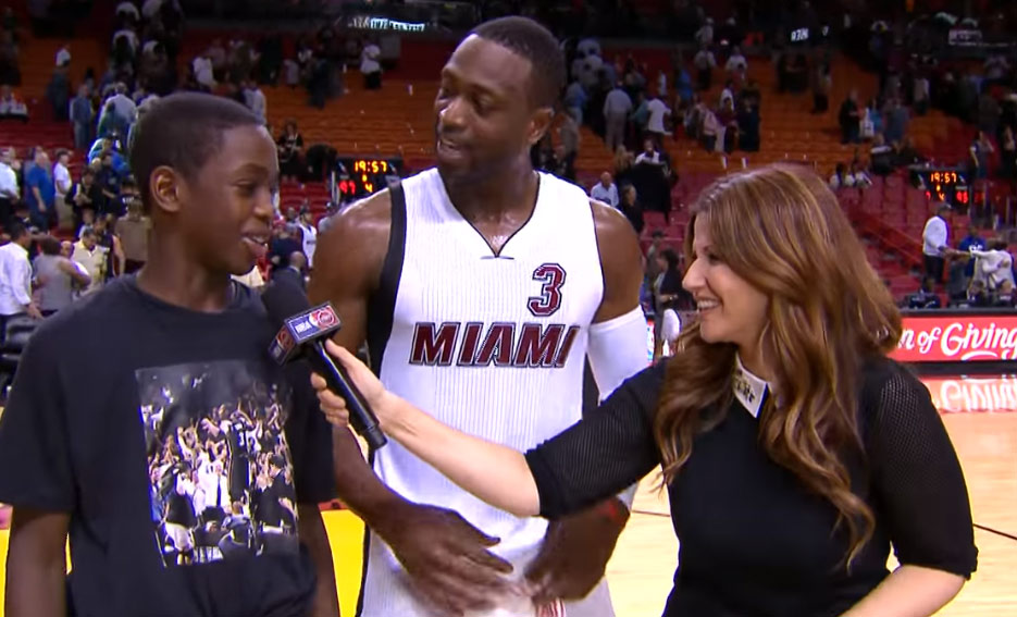 Dwyane Wade's Son Gives Dad A Hard Time About Not Dunking Anymore