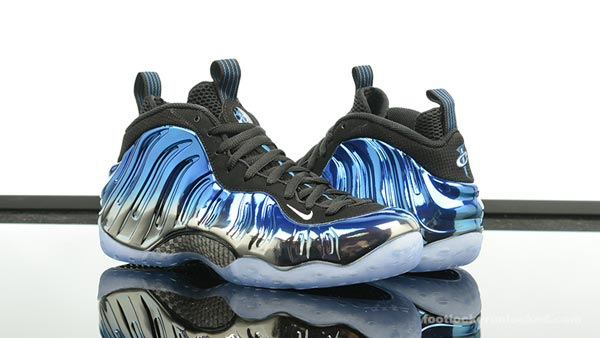 "bf732e84acf Release Reminder! Nike Foamposite 1 ""Blue Mirror"" - Ballislife.com"