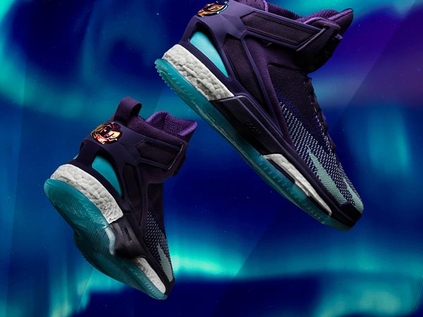 adidas today unveiled the D Rose 6 Aurora Borealis collection edition to  celebrate NBA All-Star Weekend in Toronto. d083ce3db0d2