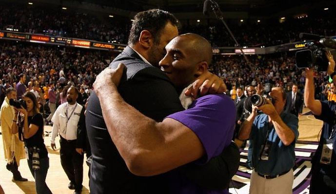 Kobe Bryant   Vlade Divac s 20 Year History - Ballislife.com 4fcad7baa