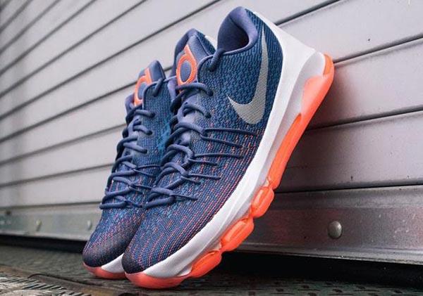 """meet 03380 c7fe4 Nike KD8 """"Ocean Fog"""" - Ballislife.com"""