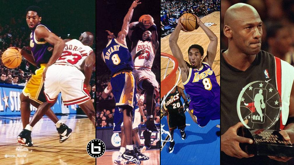 f4a41e92d6ad Kobe Bryant vs Michael Jordan Duel at MSG