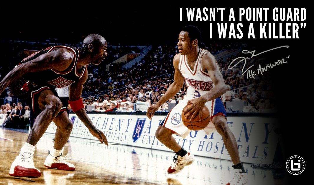 """3d75563a7 Allen Iverson Hall of Fame Interview  """"I Wasn t A Point Guard"""