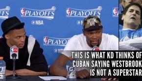 "cd1850040ab Durant Calls Mark Cuban ""An Idiot"
