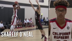 59a4c4cd0dd Class of 2018 Shareef O Neal Continues to Impress At Nike EYBL Event