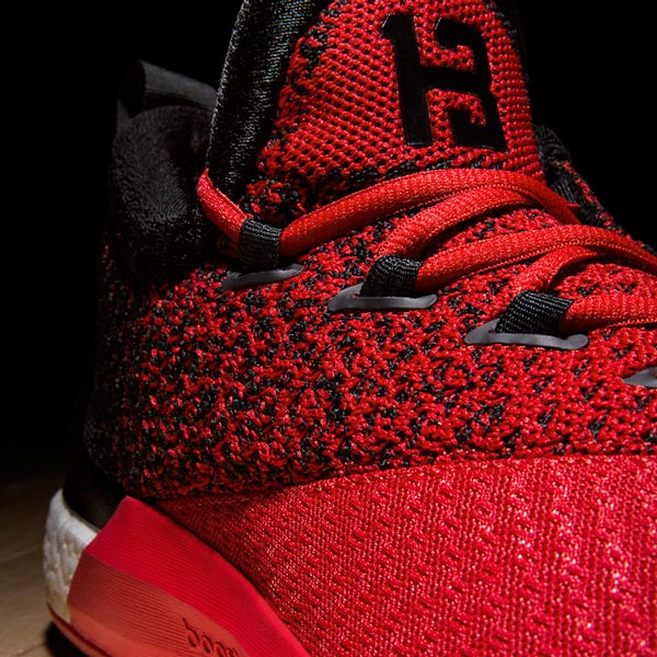 new concept bae8f 3b6ad adidas  James Harden Reveal Home  Road PEs of the Crazylight
