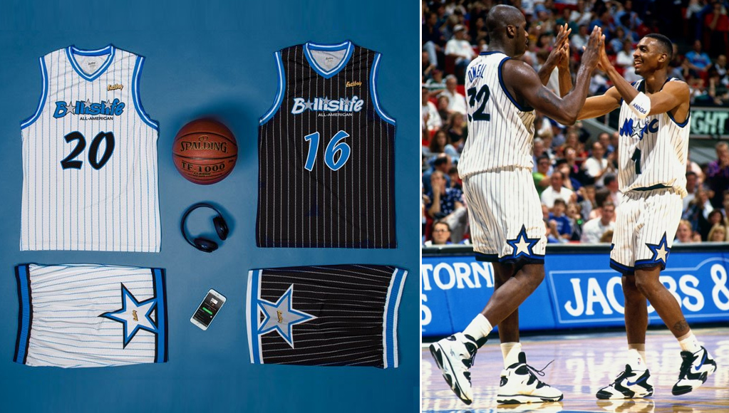Eastbay Honors 90 s Orlando Magic With 2016 Ballislife All-American Jerseys 712d85ced
