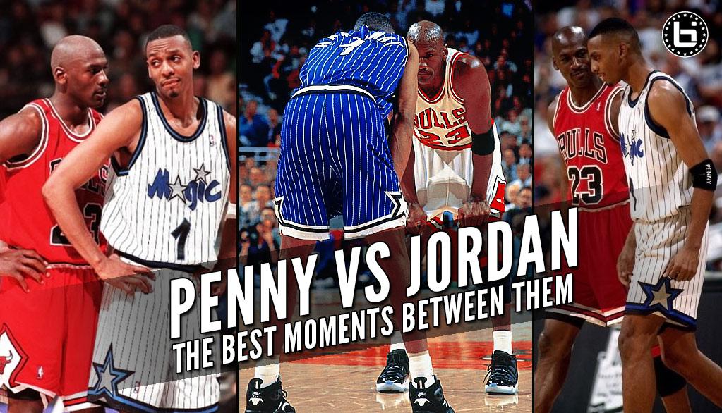 hot sale online 6743e 87c13 Penny Hardaway On The Best Penny Hardaway vs Michael Jordan Moments