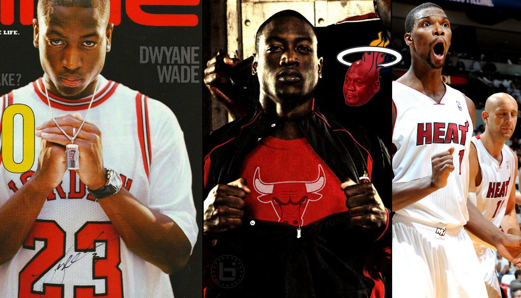 quality design dc9bd 7839d Best & Funniest Responses To Dwyane Wade Joining The Bulls ...