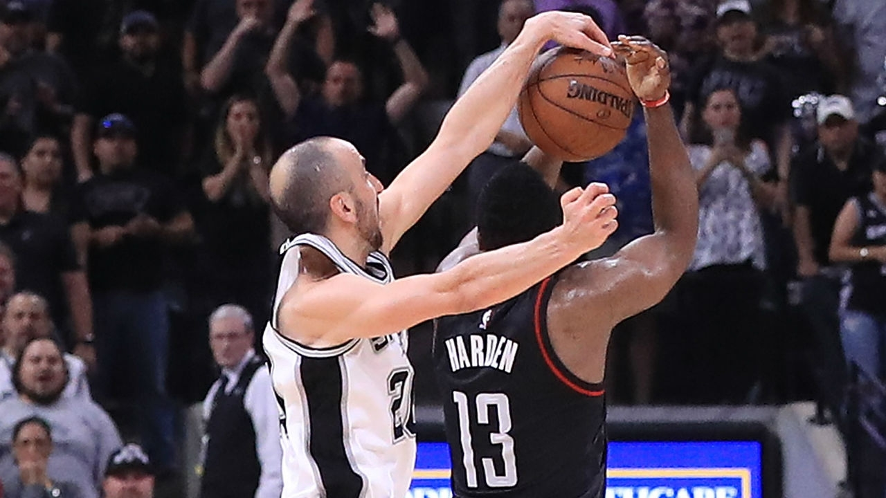 62d510ea7d8 39 YEARS OLD  AS CLEAN AS THIS VIRAL BLOCK ON JAMES HARDEN IN THE 2017 NBA  PLAYOFFS. ginobili fv2l5zo8kuopzlx0yqk52uxr