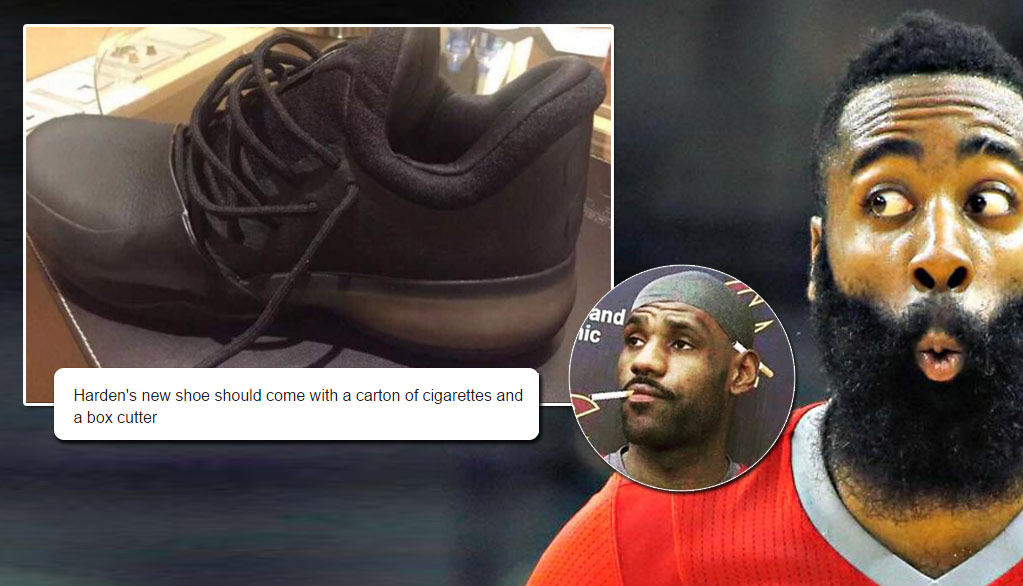 The Comedy Roast Of James Harden S New Adidas Shoes Worse Than The