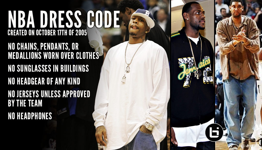 The NBA Dress Code of 2005  Why It Was Created   How Players Reacted ... 3cb49bbab
