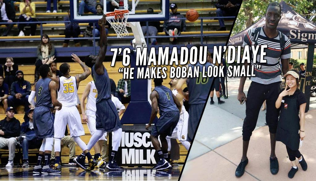 Detroit Pistons Signs 76 Mamadou Ndiaye Tallest Nba Player Since