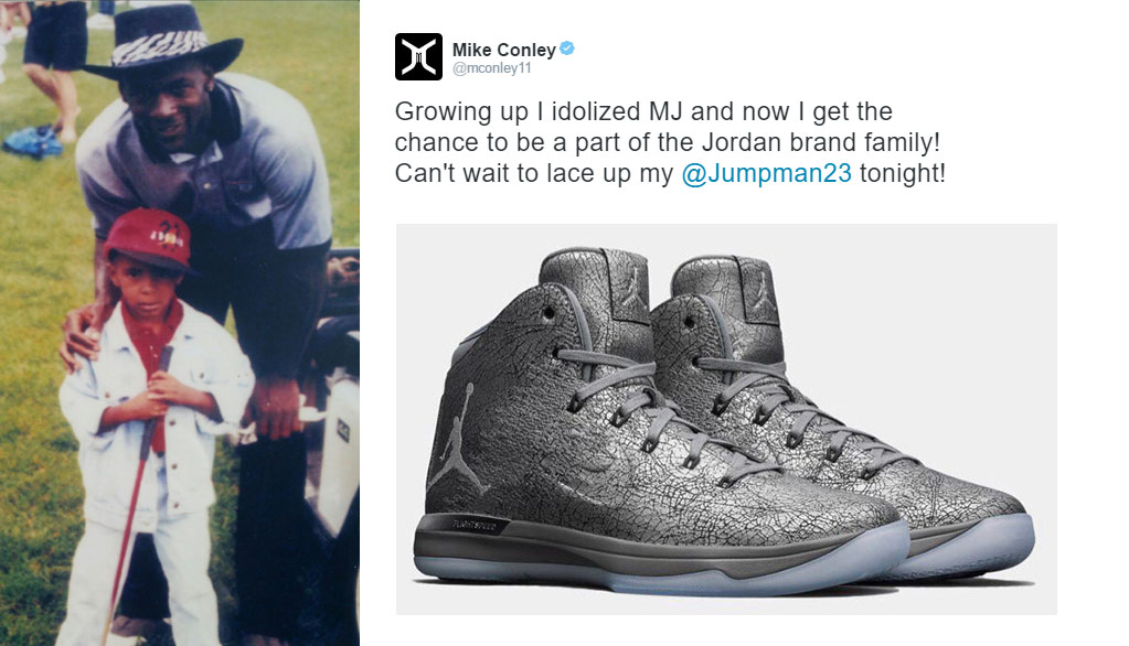 af0c00e04d64 Be Like Mike  Mike Conley Is Real Happy About Being With Jordan Brand (and