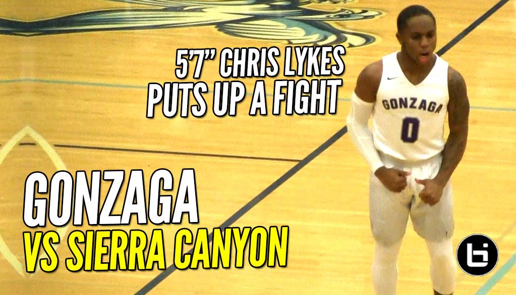 Gonzaga Vs Sierra Canyon