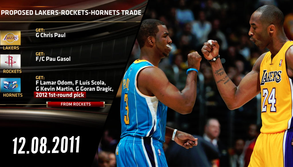 What If The NBA Allowed Chris Paul To Go To The Lakers In 2011  What if David  Stern never vetoed ... 98b00411b