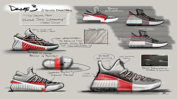 quality design 6790f d8771 adidas Introduces the Dame 3  Damian Lillards 3rd Signature