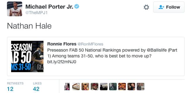Michael Porter Delivers