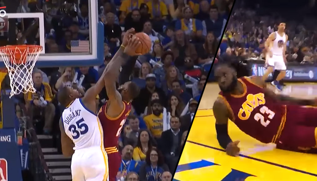 Foul? Kevin Durant Rejects LeBron James