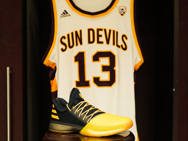 huge discount 67a28 f7427 adidas and James Harden Drop Harden Vol. 1 ASU Tribute