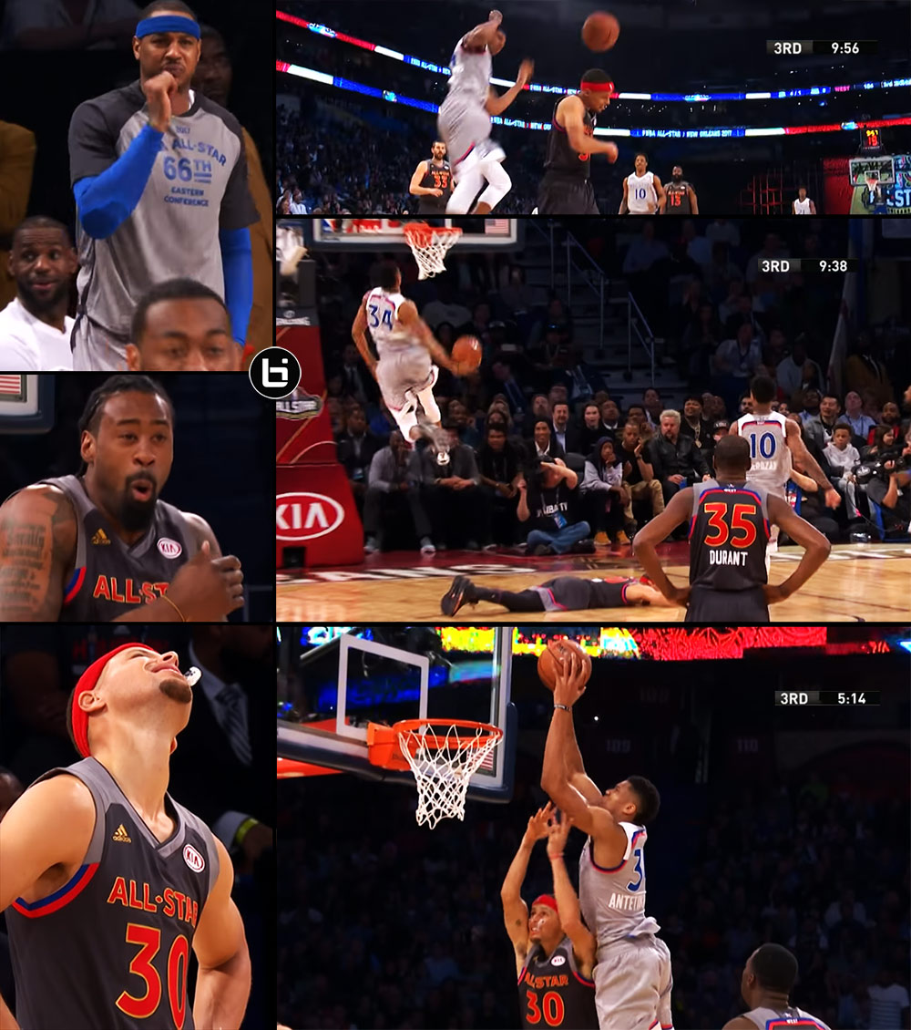 Giannis Antetokounmpo Put On A Dunk Show At The Expense Of