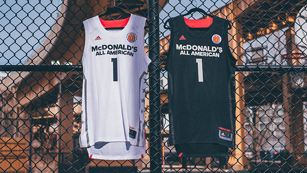 adidas Unveils 2017 McDonald s All American Games Uniform Collection ... 0dc9c9be2