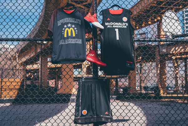 reputable site d2554 d8628 adidas2017McDAAGBoysEastH. adidas and McDonalds today unveiled the  uniform collection for the 40th Annual McDonalds All American Games ...