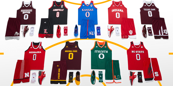 half off ff6e7 50e97 adidas Unveils School Pride Basketball Uniforms for 2017 ...