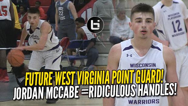 9e9e9bc0389 Jordan McCabe Has More Than Just THE BEST Handles in HS! Future WVU PG  Highlights ...