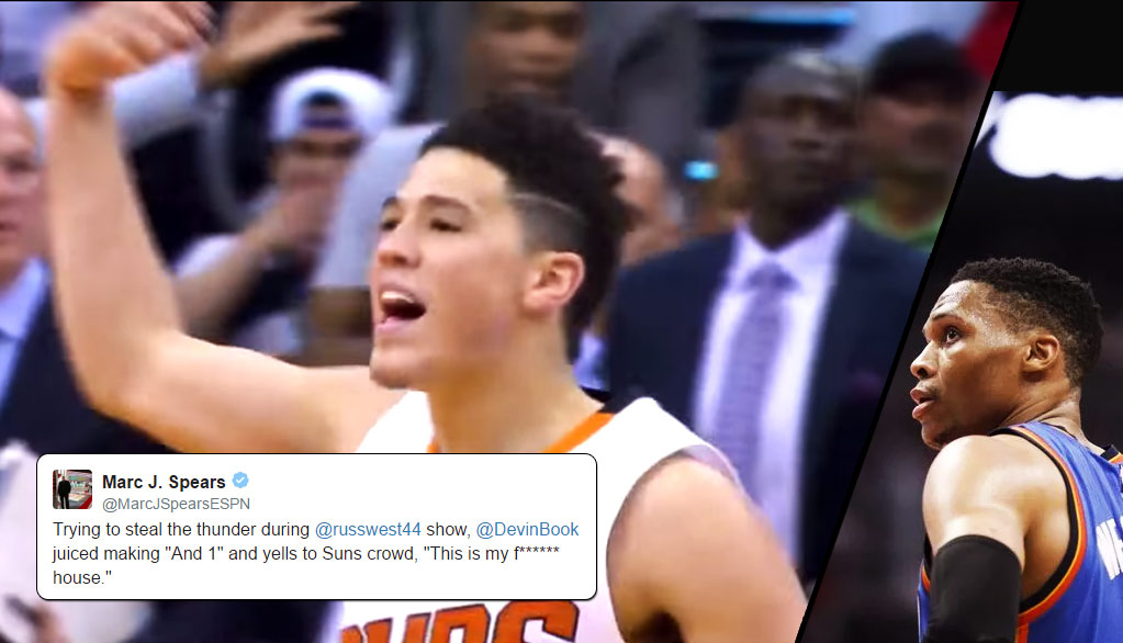 0837ff304d78 Devin Booker Scores 21 Of His 37 In 4th