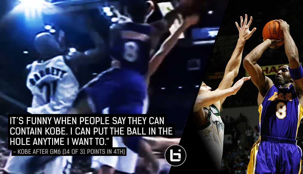 001680e0645 Kobe s Baseline Windmill Dunk   Dominance Against The Wolves In GMS 5   6  Of The Every time I say Kobe Bryant ...