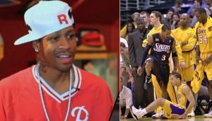 d27e713e989d3 Allen Iverson Talks About Stepping Over Tyronn Lue In The 2001 NBA Finals -  Ballislife.com