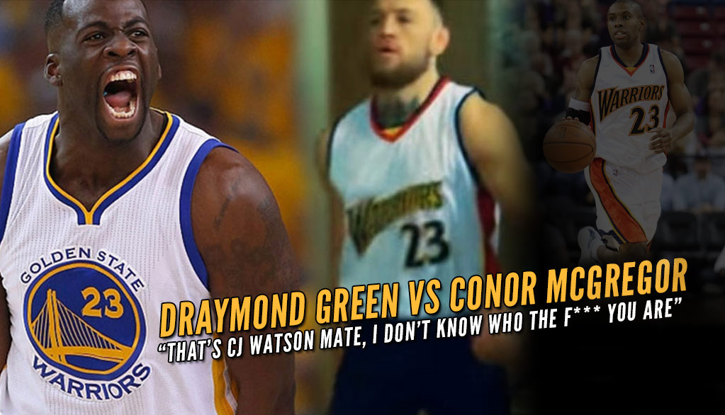 the latest 13cf1 67beb Conor McGregor Destroys Draymond Green During Verbal ...