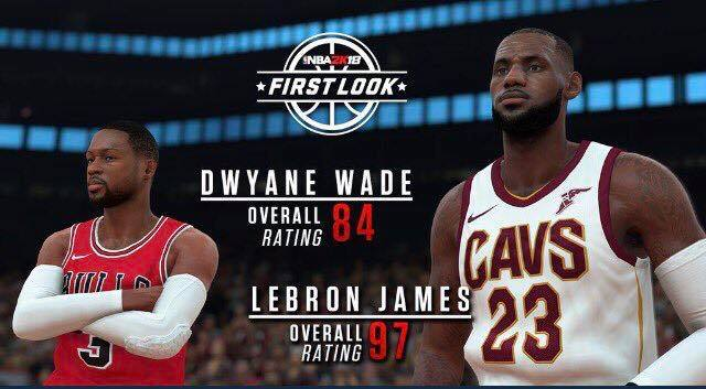 c2a0bee3043 The Evolution of LeBron James In Video Games (2004-2018 ...