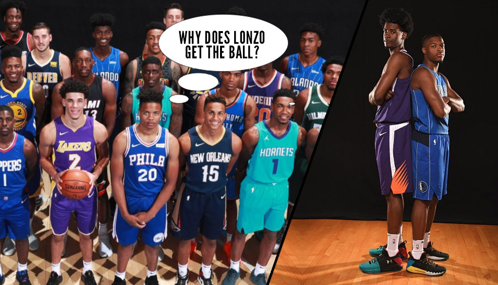 Best Moments From The 2017 Panini NBA Rookie Shoot - Ballislife.com d3443f01b