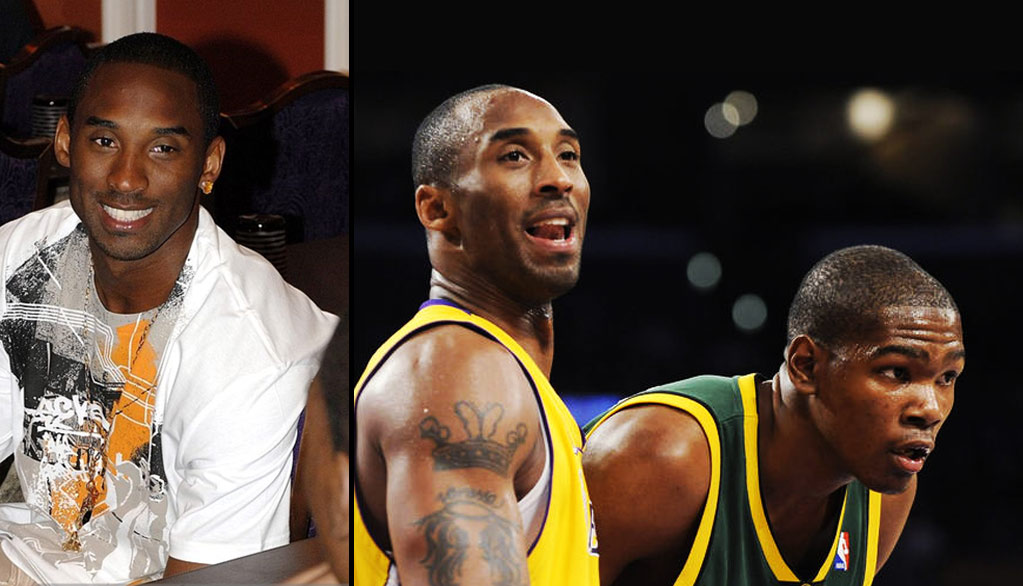 """ab4f0ef3b6c6 Kevin Durant On Meeting Kobe Bryant At The Age Of 18  """"Kobe Is A God ..."""